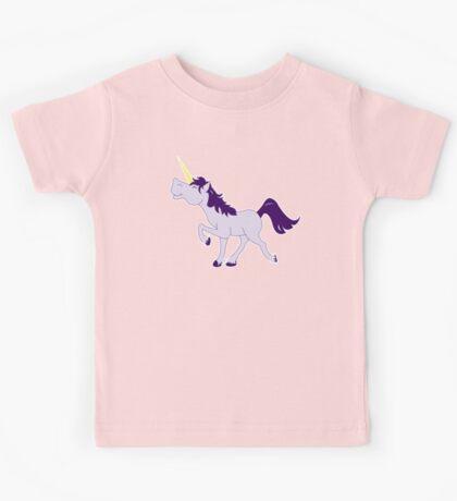 Cute Unicorn Cartoon Kids Tee