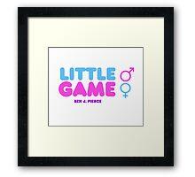 Little Game Ben J Pierce Framed Print