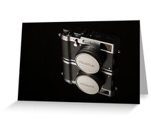 Fujifilm x100t Camera Greeting Card