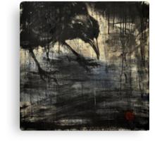 black rain 2 Canvas Print