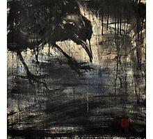 black rain 2 Photographic Print