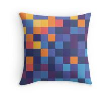 Mosaic 1484 - Fire and Ice or Water or Something Throw Pillow