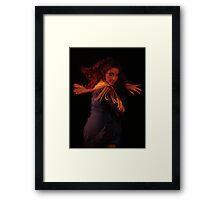 La Chica Framed Print