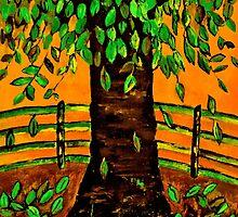 Tree Art by Kathleen   Sartoris