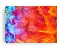 Glaze Abstract  Canvas Print