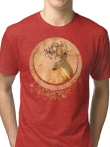 Melody of Spring - Song Forest Spirit  Tri-blend T-Shirt