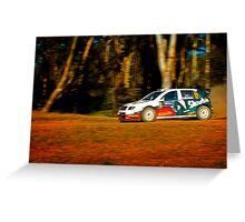 Colin MacRae - World Rally Champion Greeting Card