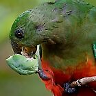 Having a Snack by Marylou Badeaux