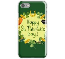 Happy St Patrick`s Day iPhone Case/Skin