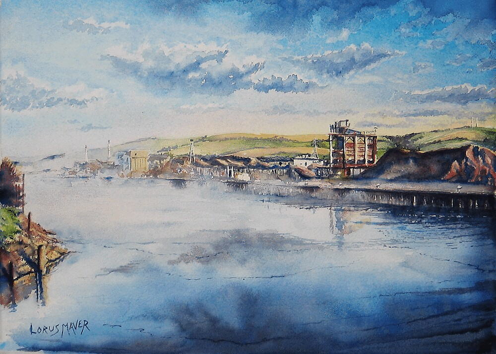 Newhaven Harbour Mist (Sussex) by LorusMaver