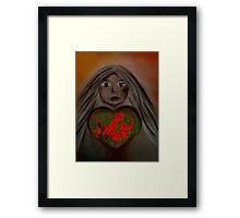 Love Mother Earth  Framed Print