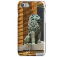The Happy Green Lion iPhone Case/Skin