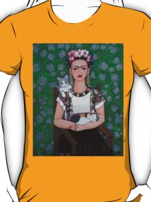 Frida cat lover T-Shirt