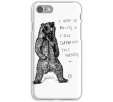 Bear-y Different. iPhone Case/Skin