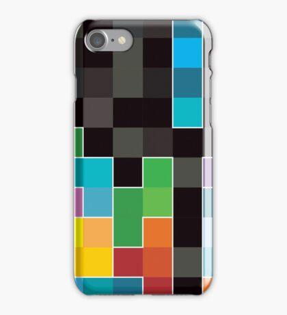 Mosaic 1494 - Tetris Mosaic iPhone Case/Skin
