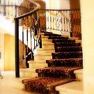 Stairway in Playa Del Carmen, Royal Hideaway by Susan Zohn