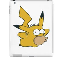 Pikachu x Homer iPad Case/Skin