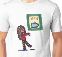 Chibi Coffee Zombie Unisex T-Shirt