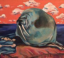 Surreal Walrus Dream  by taykrzz