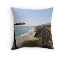Telegraph Coast Throw Pillow