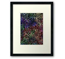Hey spaceman, I like your glitter :: V2 Framed Print