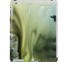 Gold Blue Abstract Print  iPad Case/Skin