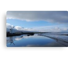 Morning Mist  over Tralee Bay Canvas Print
