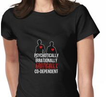 codependent brothers Womens Fitted T-Shirt