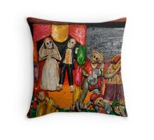 wedding reception Throw Pillow