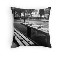 Chess Set 1 Throw Pillow