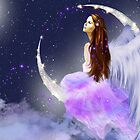 Moonlight Angel by angelsoulart
