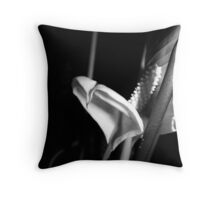Wilted Lily Throw Pillow