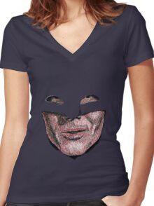 Adam Women's Fitted V-Neck T-Shirt