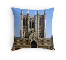 Lincoln Cathedral Throw Pillow