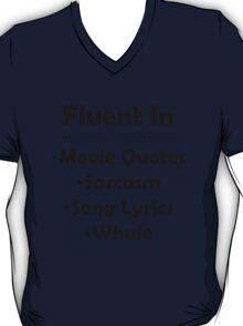The Many Languages I Speak  T-Shirt