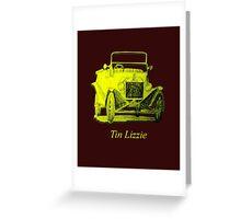 Pop-Art Lizzie Greeting Card