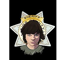 Sheriff Coral Photographic Print