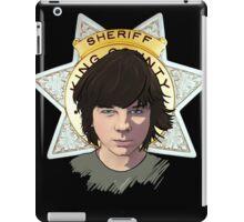 Sheriff Coral iPad Case/Skin
