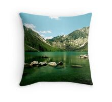 Convict Lake Throw Pillow