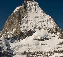 matterhorn in winter by peterwey