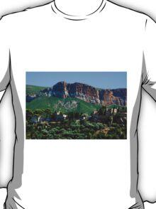 A Perched Vilage in Alpes-de-Haute-Provence, France T-Shirt