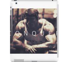 Conquer with Arnold Schwarzenegger iPad Case/Skin