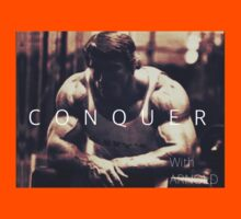 Conquer with Arnold Schwarzenegger Kids Tee