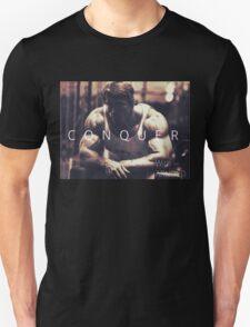 Conquer with Arnold Schwarzenegger T-Shirt