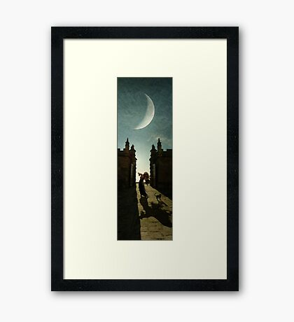 Chateau du Chat Noir Framed Print