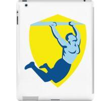 Crossfit Pull Up Bar Shield Retro iPad Case/Skin