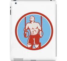 Cross-fit Ring Dip Circle Retro iPad Case/Skin