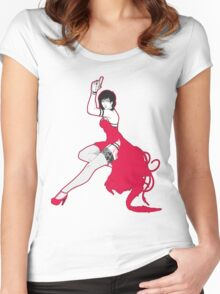 Ada pin-up Women's Fitted Scoop T-Shirt