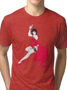 Ada pin-up Tri-blend T-Shirt