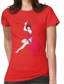 Ada pin-up Womens Fitted T-Shirt